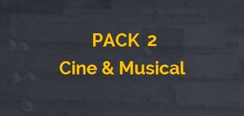 pack 2 cine y musical_ CASTE
