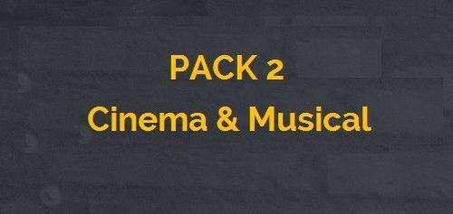 pack 2 cinema i musical